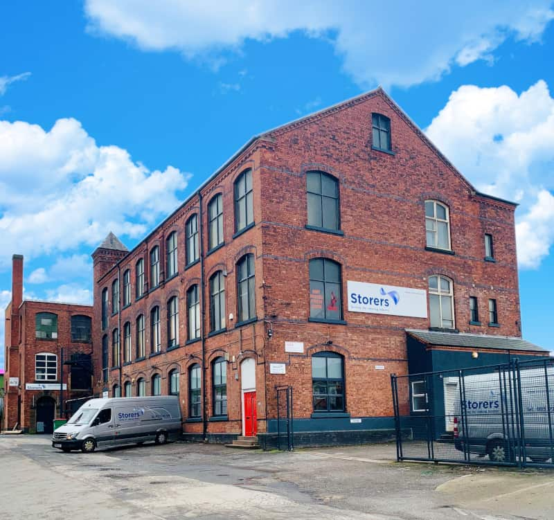Storers factory in Arnold, Nottingham